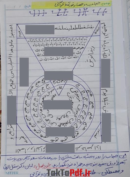 باطلنامه, حصار, تحصین شفلی